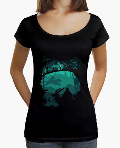 Tee-shirt princesse mononoke - princesse de foerst