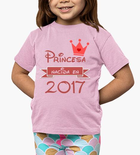 Vêtements enfant princesse née en 2017