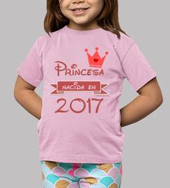 princesse née en 2017