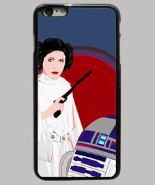 principessa con droide