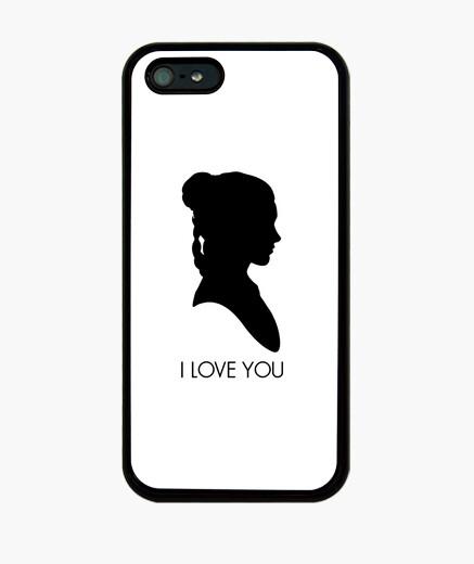 Cover iPhone principessa leia