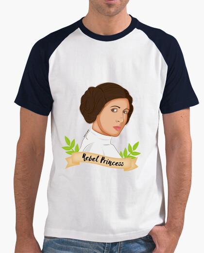 T-shirt principessa ribelle leia uomo
