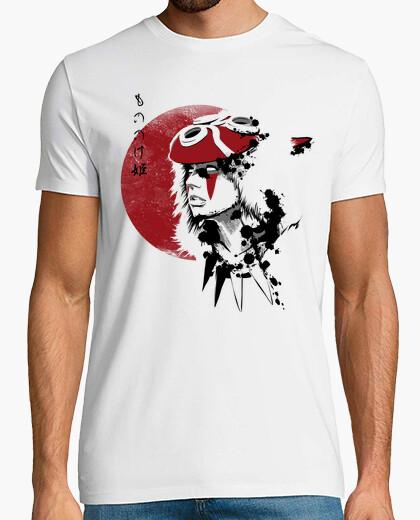 T-shirt principessa sole rosso