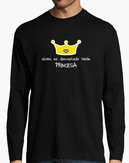 T-shirt principessa uomo lungo