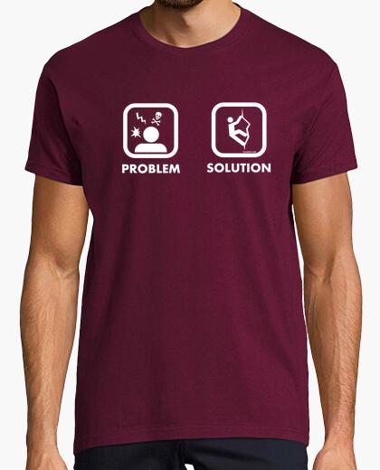Camiseta Problem Solution Climb Hombre
