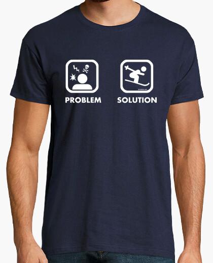 Camiseta Problem Solution Ski Hombre
