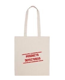 Producto defectuoso bolsa