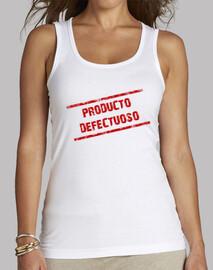 Producto defectuoso M