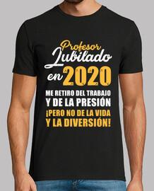 Profesor Jubilado en 2020