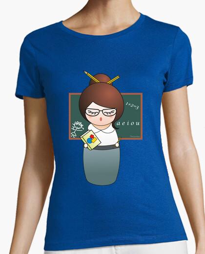 Tee-shirt professeur  tee shirt  kokeshi