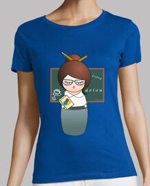 professeur  tee shirt  kokeshi