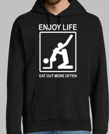 profiter de la vie, eat sortir plus souvent