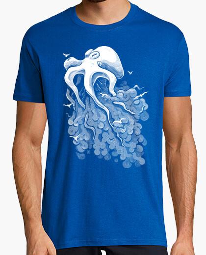 Camiseta profunda nube