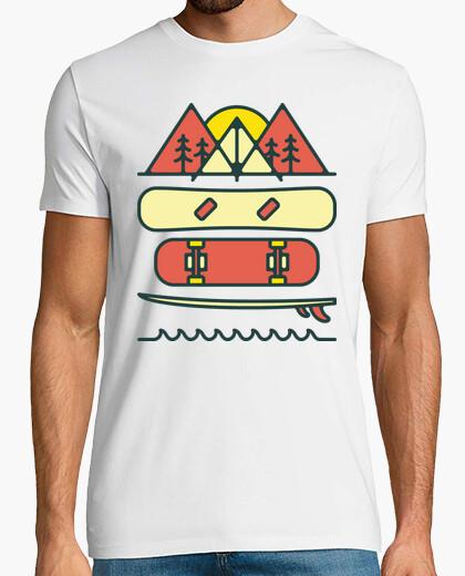 T-shirt progettare no. 801.526