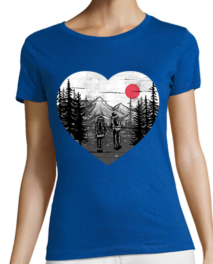 Visualizza T-shirt donna natura