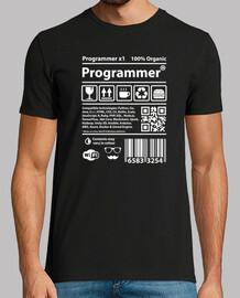 programmeur blanc