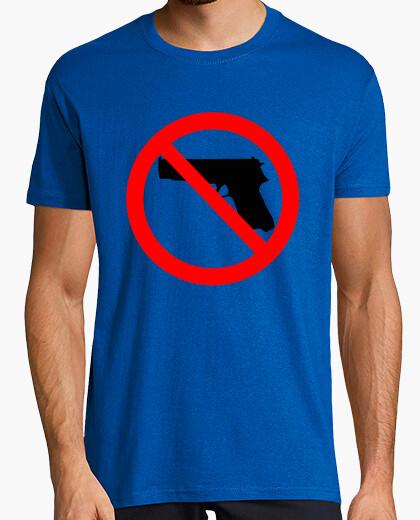 Camiseta Prohibido el trafico de armas