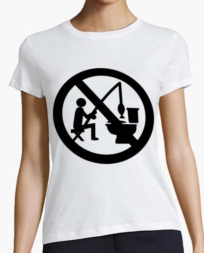 Camiseta Prohibido WC Pescar