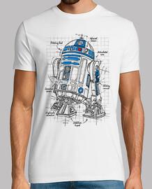 projet droid: bleu