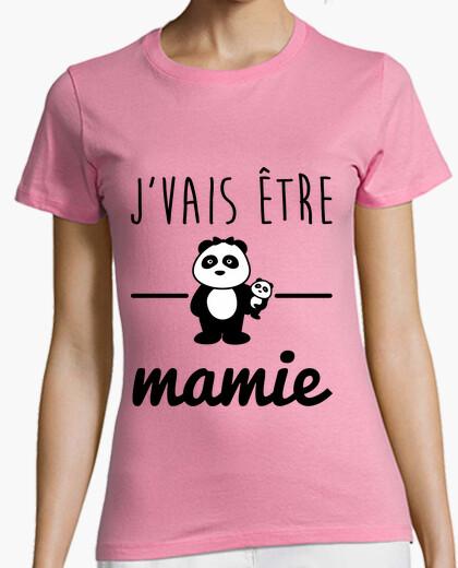 Camiseta pronto abuela futura abuela