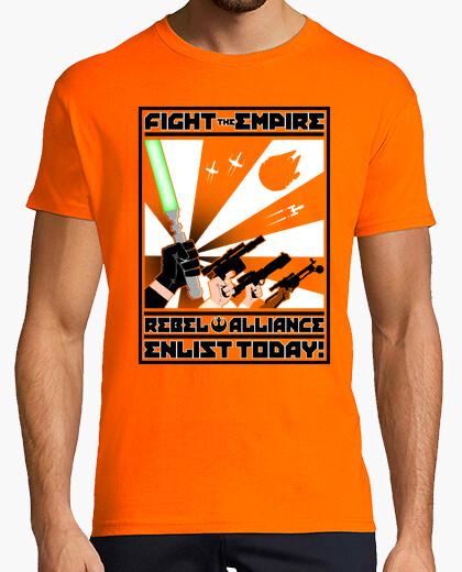 Camiseta propaganda rebelde