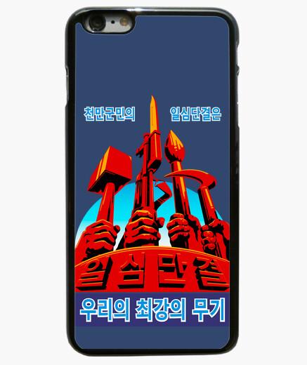 Coque Iphone 6 Plus / 6S Plus propagande nord-coréenne and a un