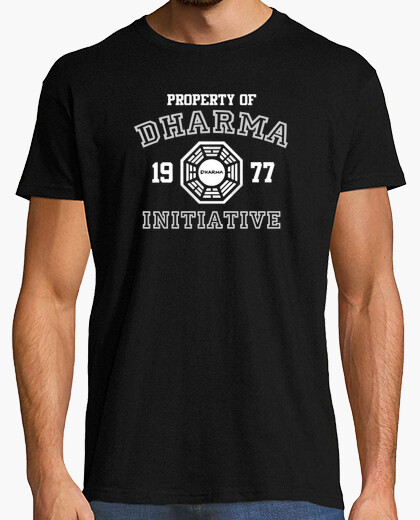 Camiseta Property of Dharma