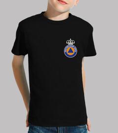 Protection civile logo générique. b couronne