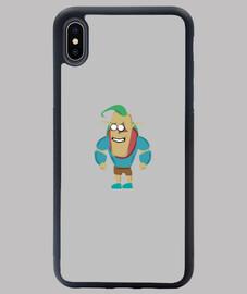 Protector tu iPhone XS Max personaje Kirf - Project Tuga