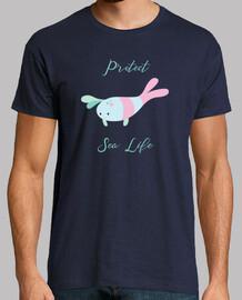 proteger la vida marina - camarones