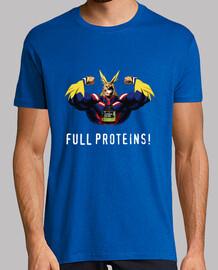 Proteínas para héroes