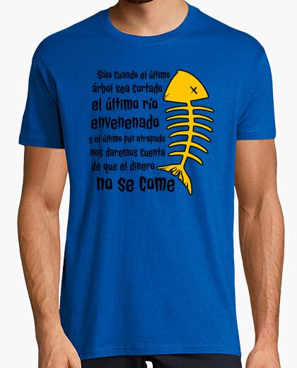 Camiseta Proverbio Indios Cree