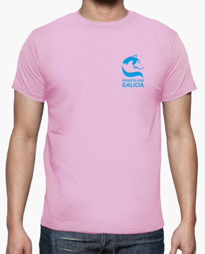 Proxecto wolf galicia t-shirt . back print.