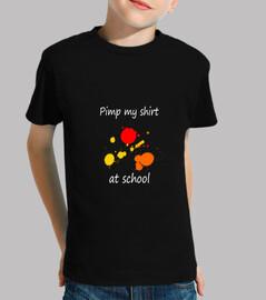 proxeneta mi camisa en la escuela