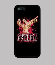 pselfie americano (iphone 5 casos)