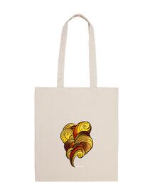 psychedelic shoulder bag