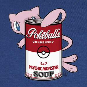 T-shirt psychic monster soup