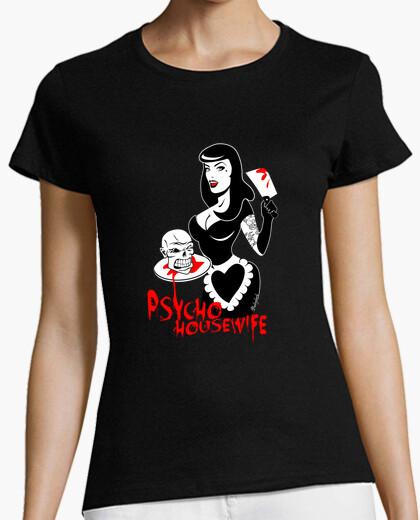 Camiseta Psycho Housewife