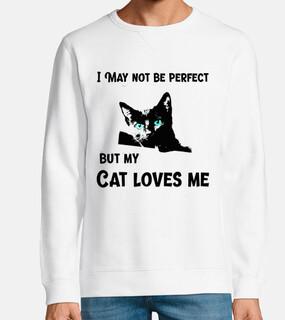 Puede que no sea perfecto pero mi gato