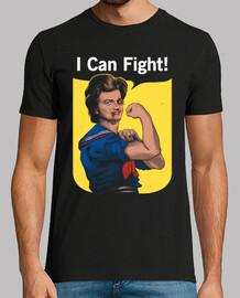 puedo pelear camisa para hombre