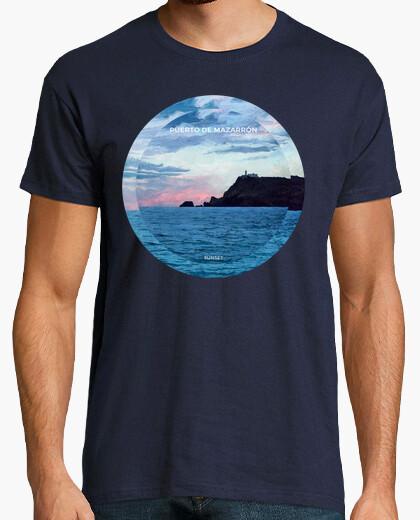 Camiseta Puerto de Mazarrón Sunset