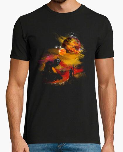 Camiseta puesta de sol en arrakis