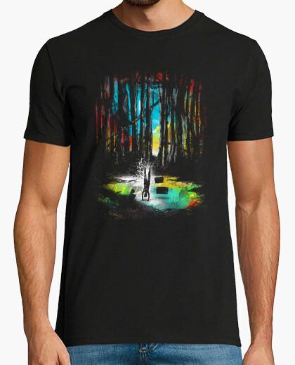 Camiseta puesta de sol en Dagobah