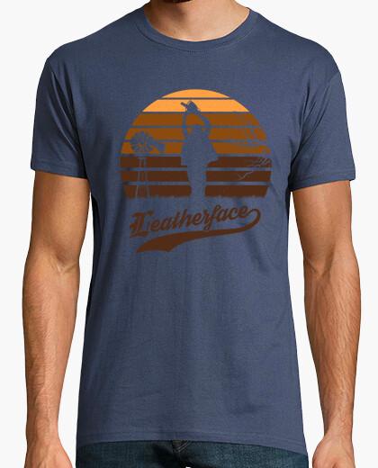 Camiseta puesta de sol leatherface