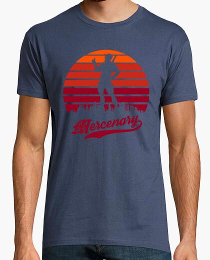 Camiseta puesta de sol mercenaria
