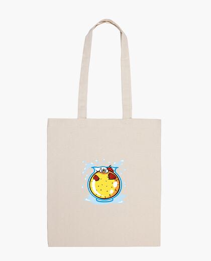 Pufferfish bag