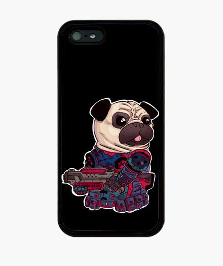 Funda iPhone Pug de asalto