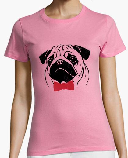 T-shirt Pug Hipster