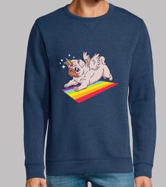 Pug unicornio