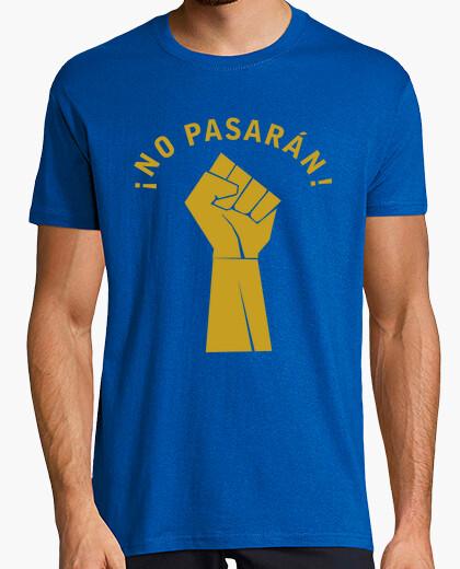 T-shirt pugno non passeranno